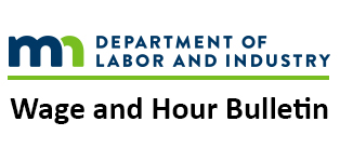 Wage and Hour Bulletin titlebar