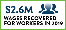 wages recovered
